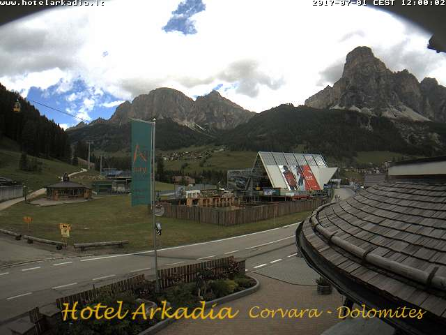 webcam corvara alta badia